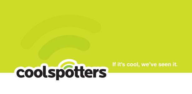 Coolspotters Logo: Designed by Mark Boulton Design Ltd.