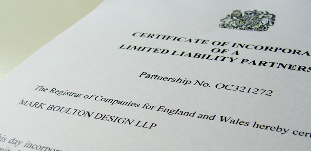 Mark Boulton Design LLP. Officially.